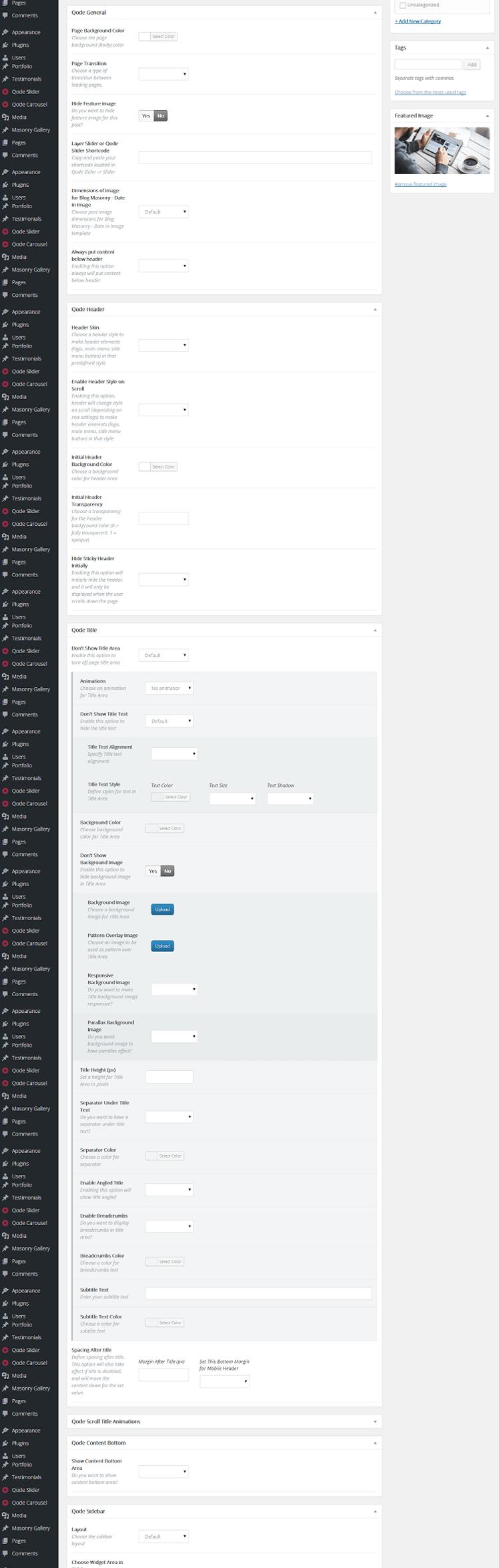 Creative, Unique, Simple, Efficient wordpress theme bridge 9