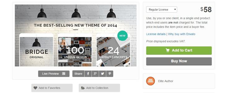 Creative, Unique, Simple, Efficient wordpress theme bridge