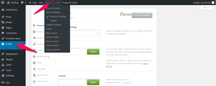 Detailed review of the WordPress Theme Enfold 13