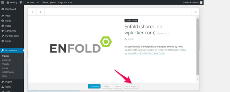 Detailed review of the WordPress Theme Enfold 5