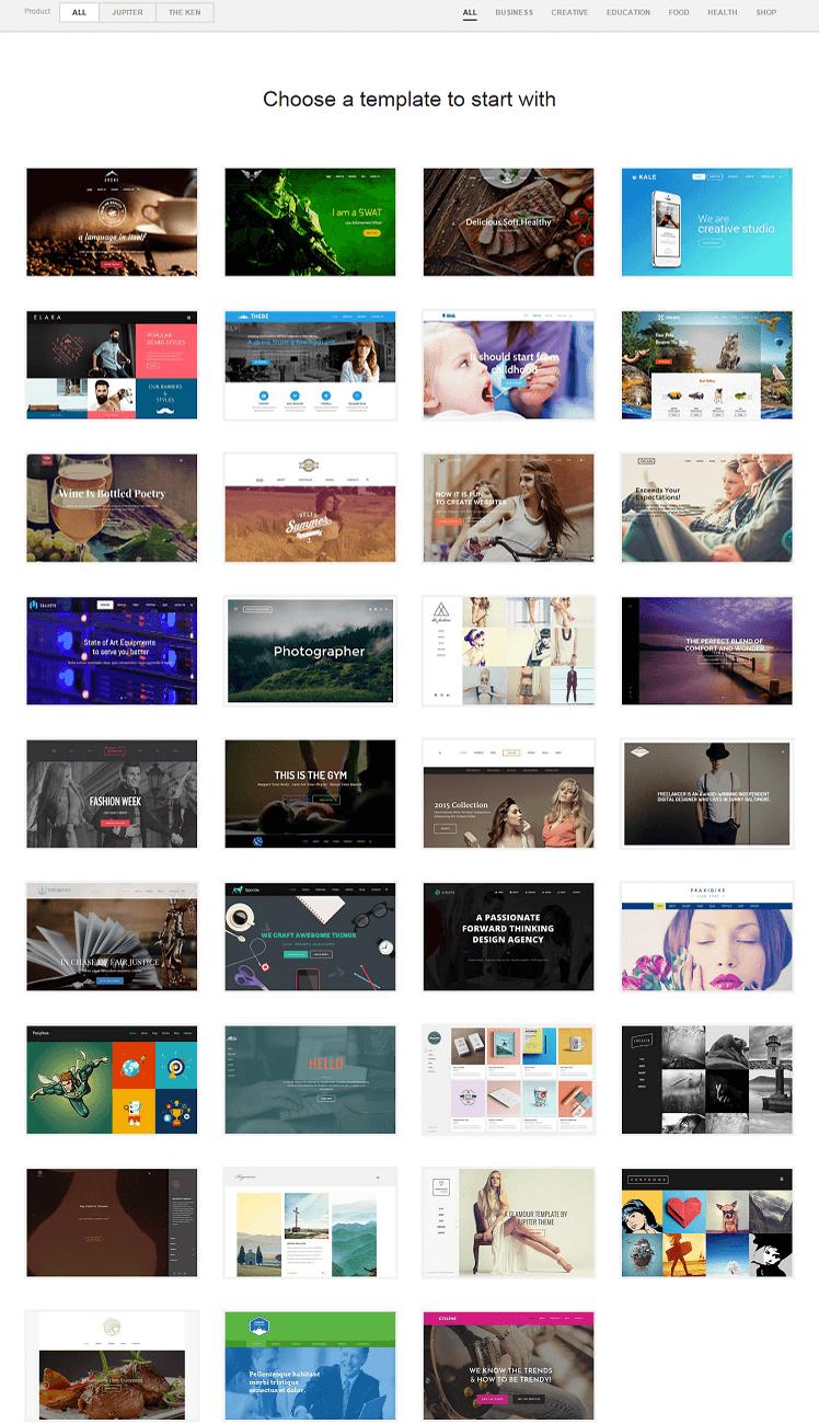 WordPress Theme Jupiter