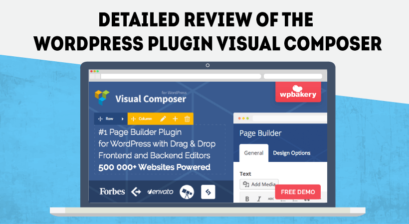Detailed Review Of WordPress Plugin Visual Composer – Best Drag And Drop Website Builder