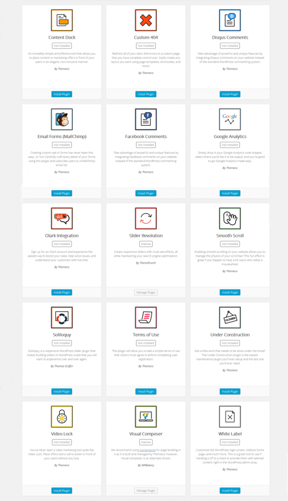 WordPress Theme X 24