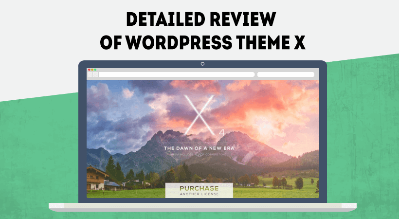 WordPress X Theme Review
