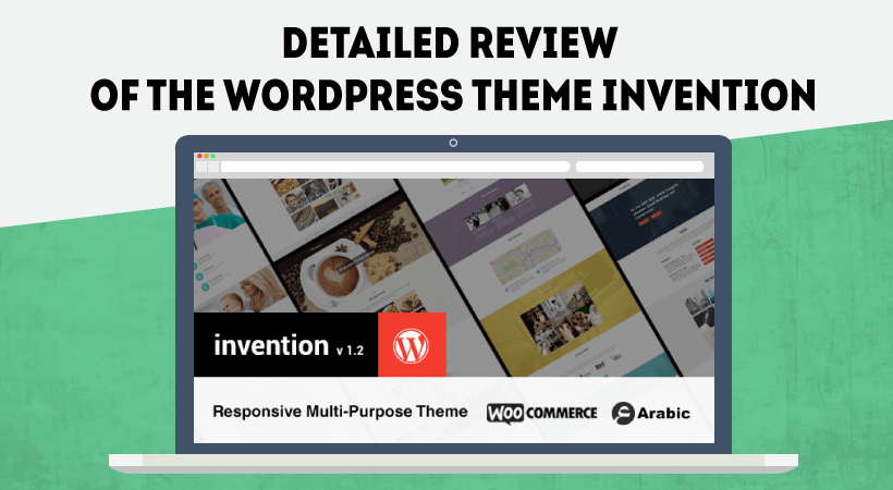 Detailed Review Of Invention WordPress Theme – Simple, But Powerful Multi-Purpose Theme To Build Your Own Website