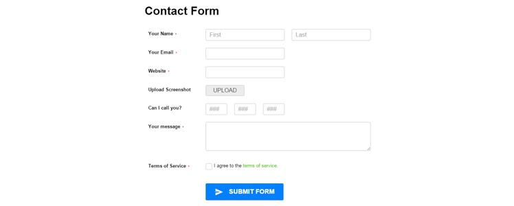 CaptainForm WordPress forms plugin 16