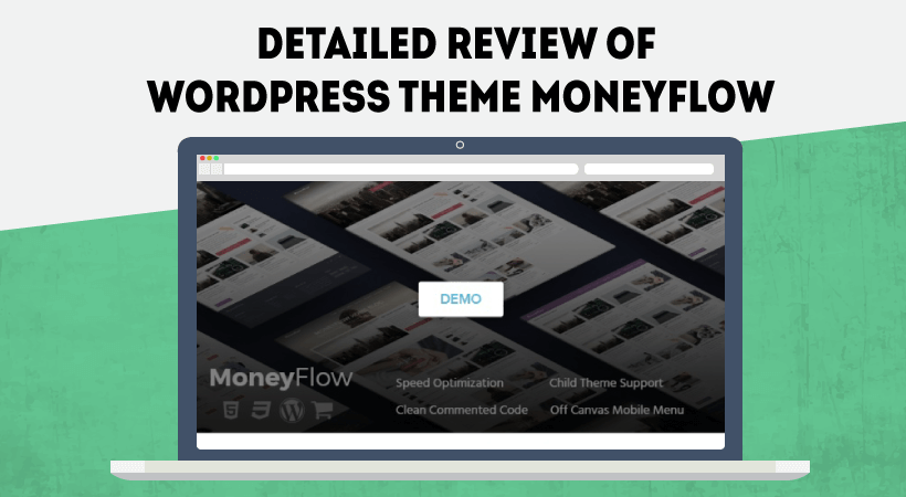 Detailed Review of WordPress Theme MoneyFlow