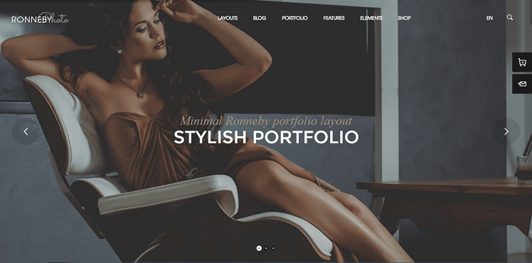 Ronneby WordPress Theme