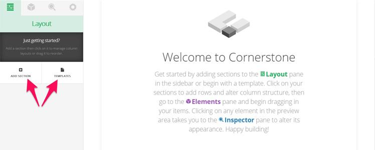 X Cornerstone page builder 11