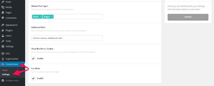 X Cornerstone page builder 5