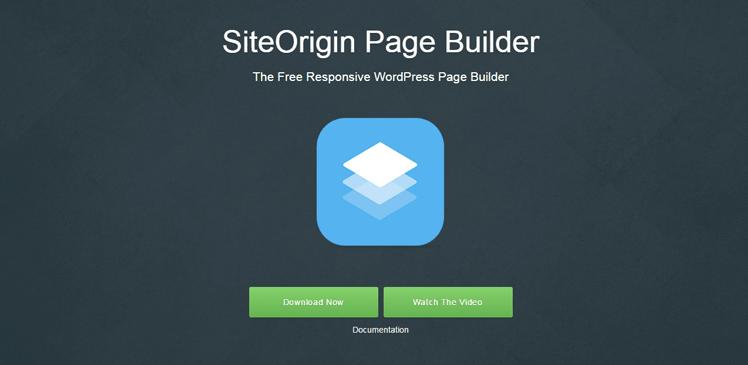 site origins drag and drop builder