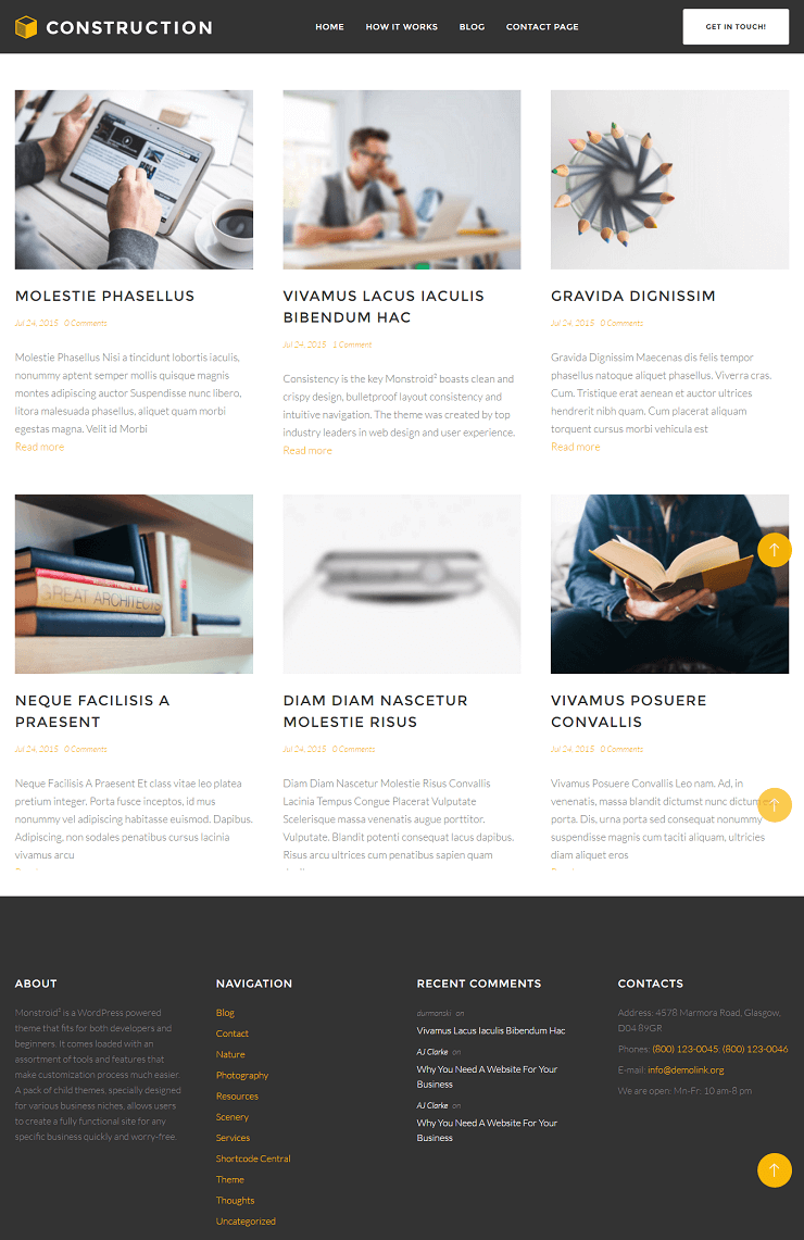 Monstroid2 WordPress Theme of New Generation 40