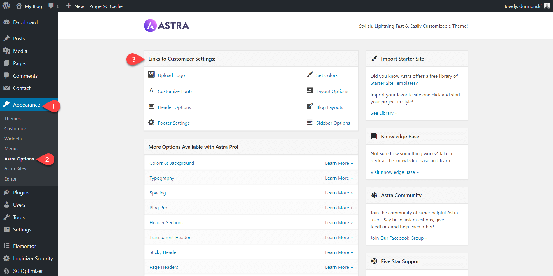 Detailed Astra Theme Review 13