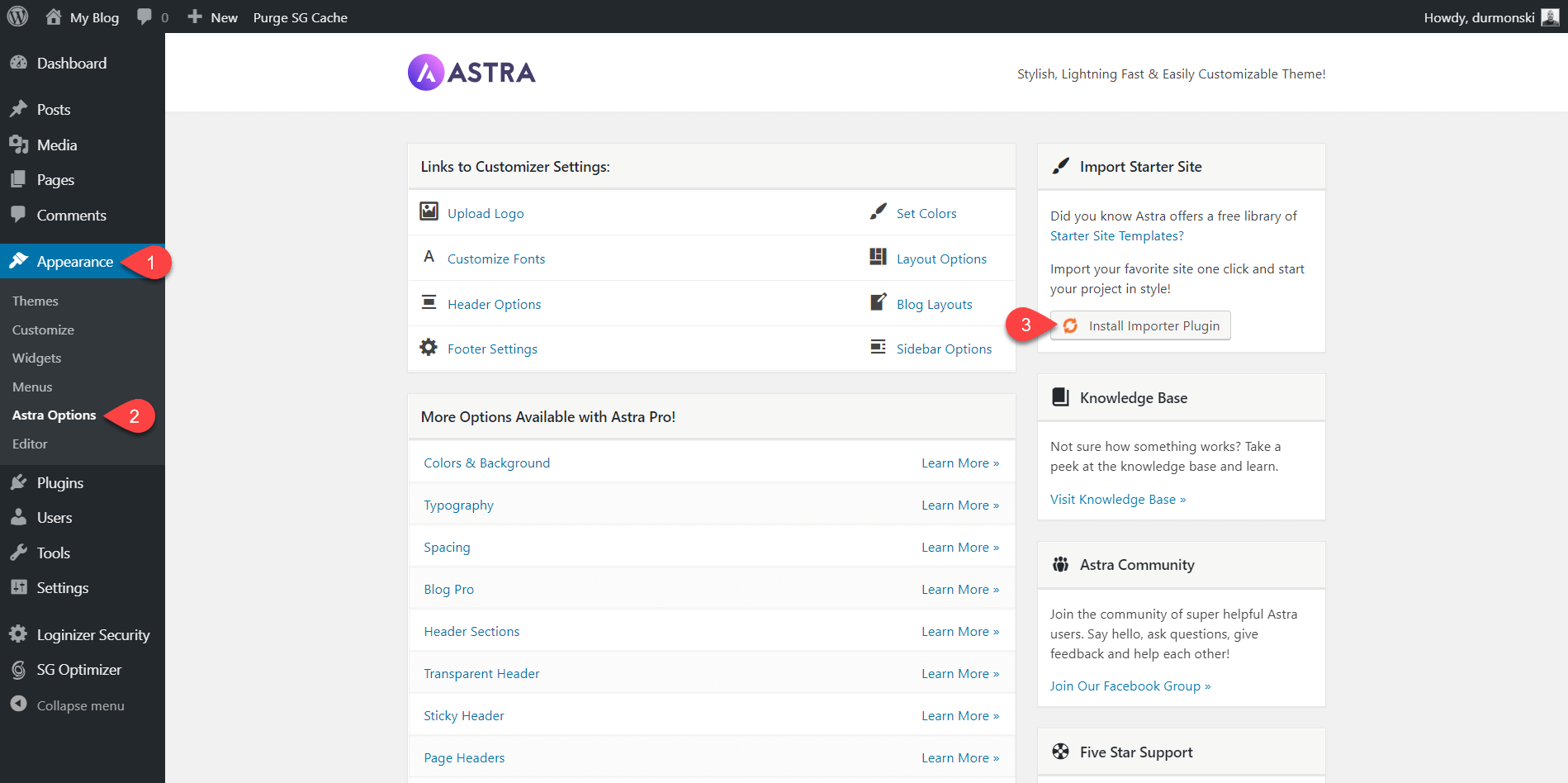 Detailed Astra Theme Review 4