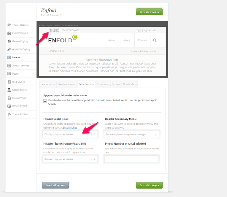Detailed review of the WordPress Theme Enfold 2