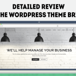 Detailed review of the wordpress theme Bridge
