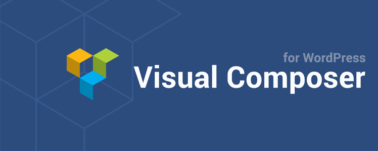 Visual composer drag and drop website builder