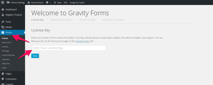 creating online forms 3