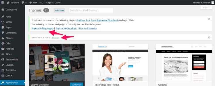 Detailed WordPress BeTheme Review 4