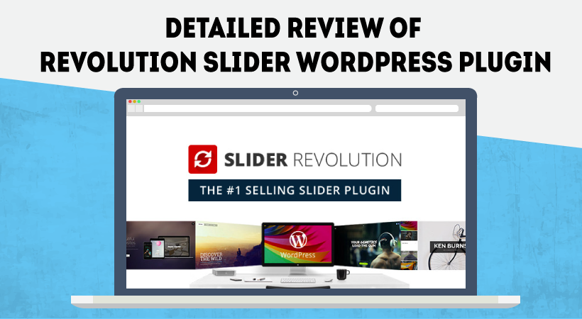 revolution slider WordPress