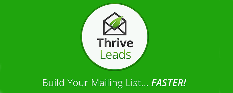 Thrive Leads by Thrive Themes