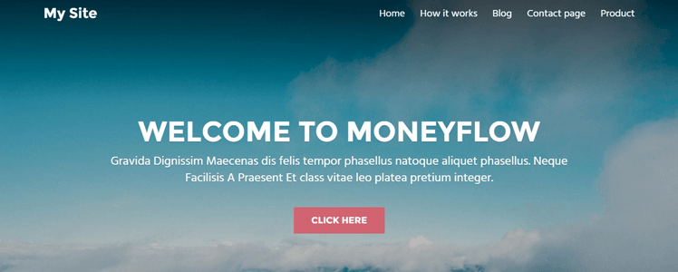 MoneyFlow WordPress Theme Review 18