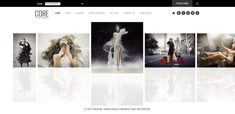 The Core WordPress Theme