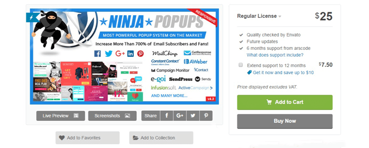 Ninja Popups for WordPress review