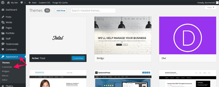 Total WordPress Theme 12