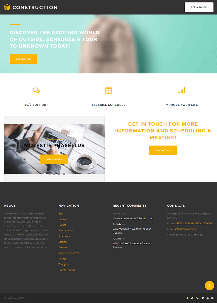Detailed Monstroid2 Theme Review - WordPress Theme of New Generation 19
