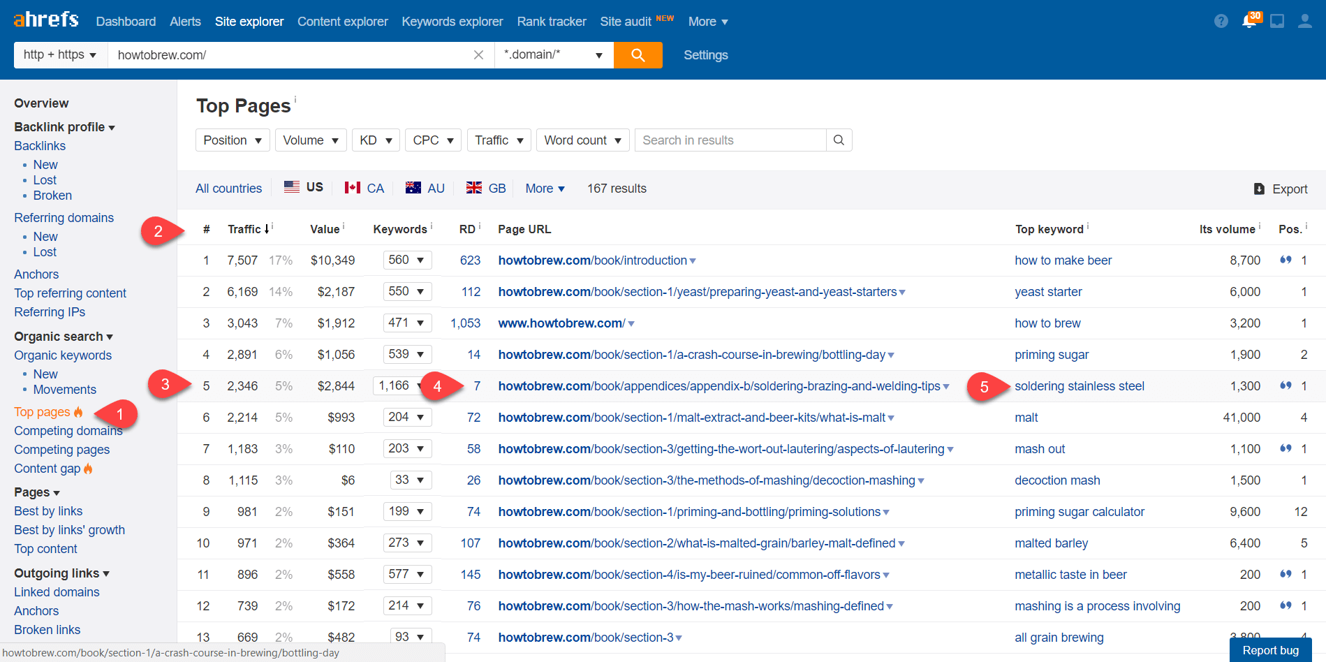 Ahrefs for Blog Content Ideas 12