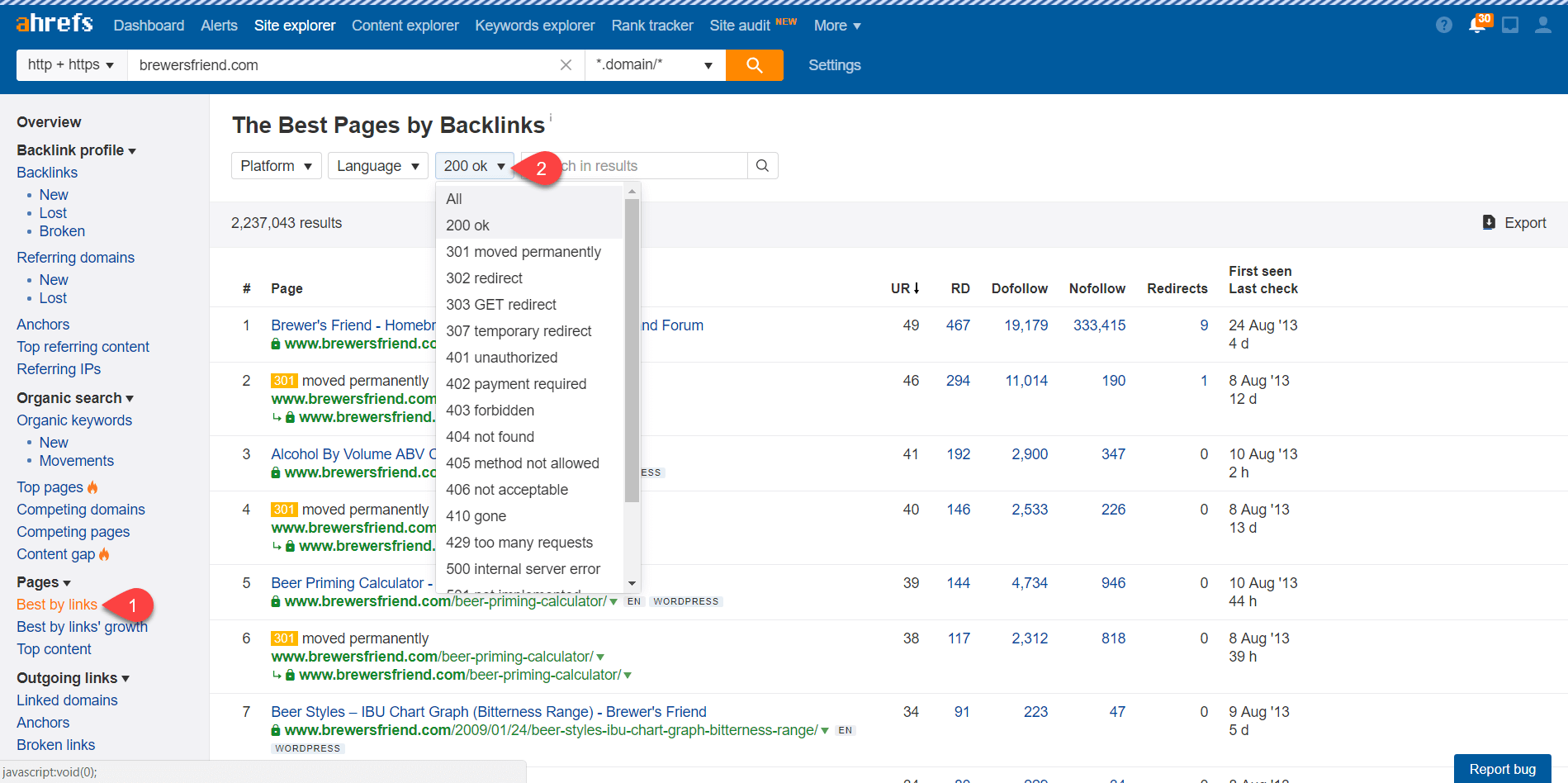 Ahrefs for Blog Content Ideas 14