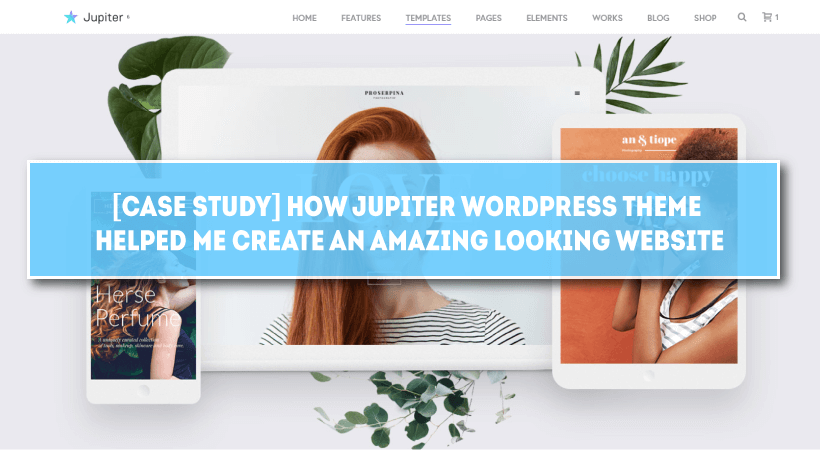[Case Study] How Jupiter WordPress Theme Helped Me Create An Amazing Looking Website
