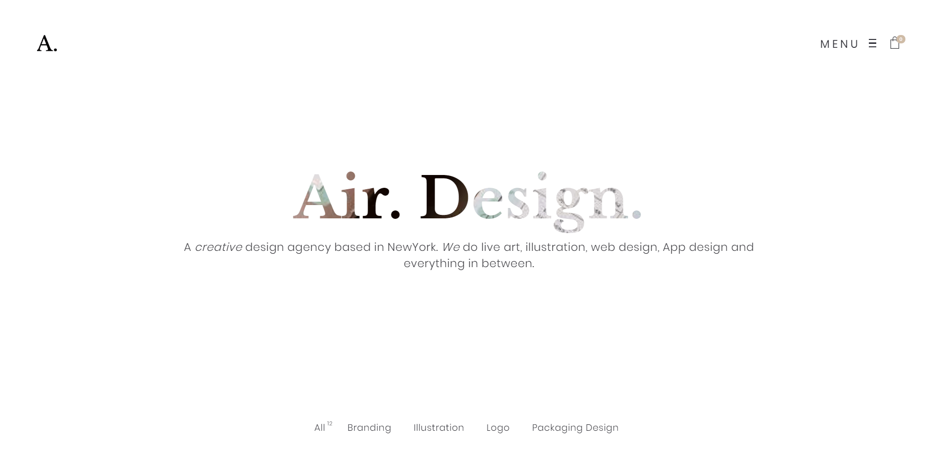 Air Minimal WordPress Theme