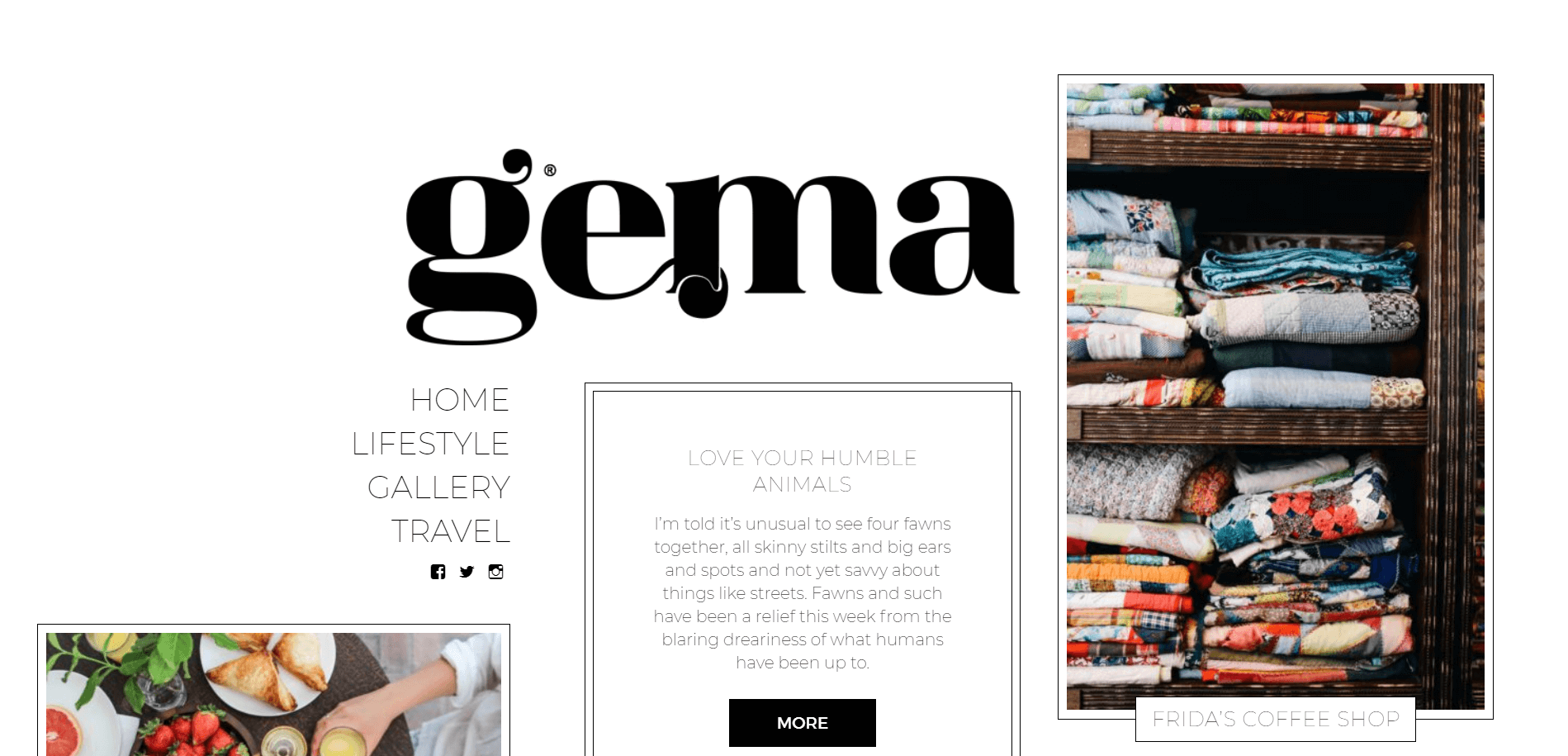 Gema WordPress Theme