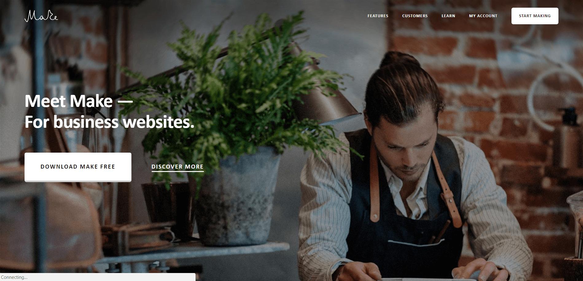 Make Minimal WordPress Theme