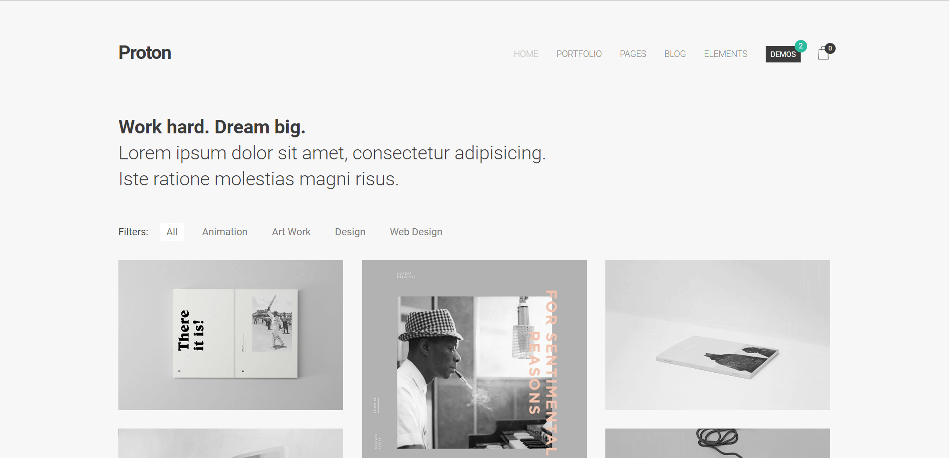 Proton WordPress Theme