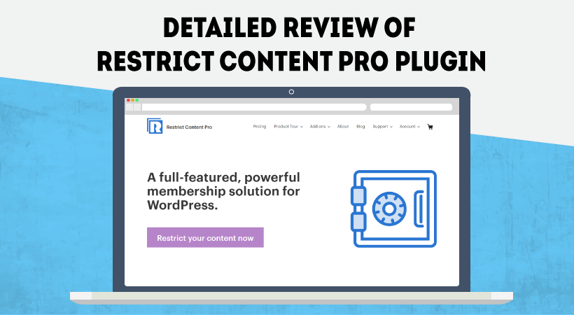 Restrict Content Pro Detailed Plugin Review