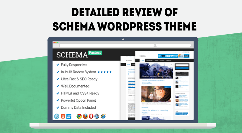 Schema Wordpress Theme Review