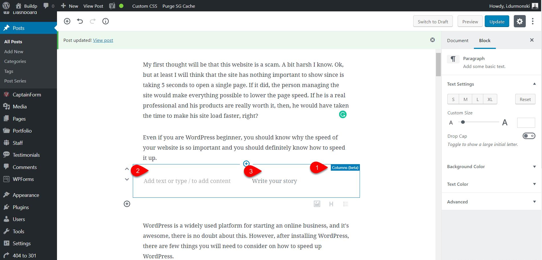 Gutenberg WordPress Editor Plugin 17