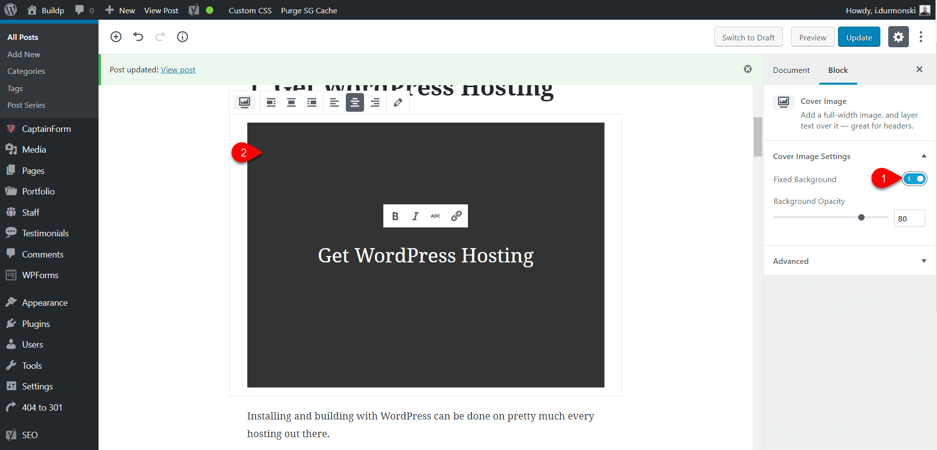 Gutenberg WordPress Editor Plugin 23