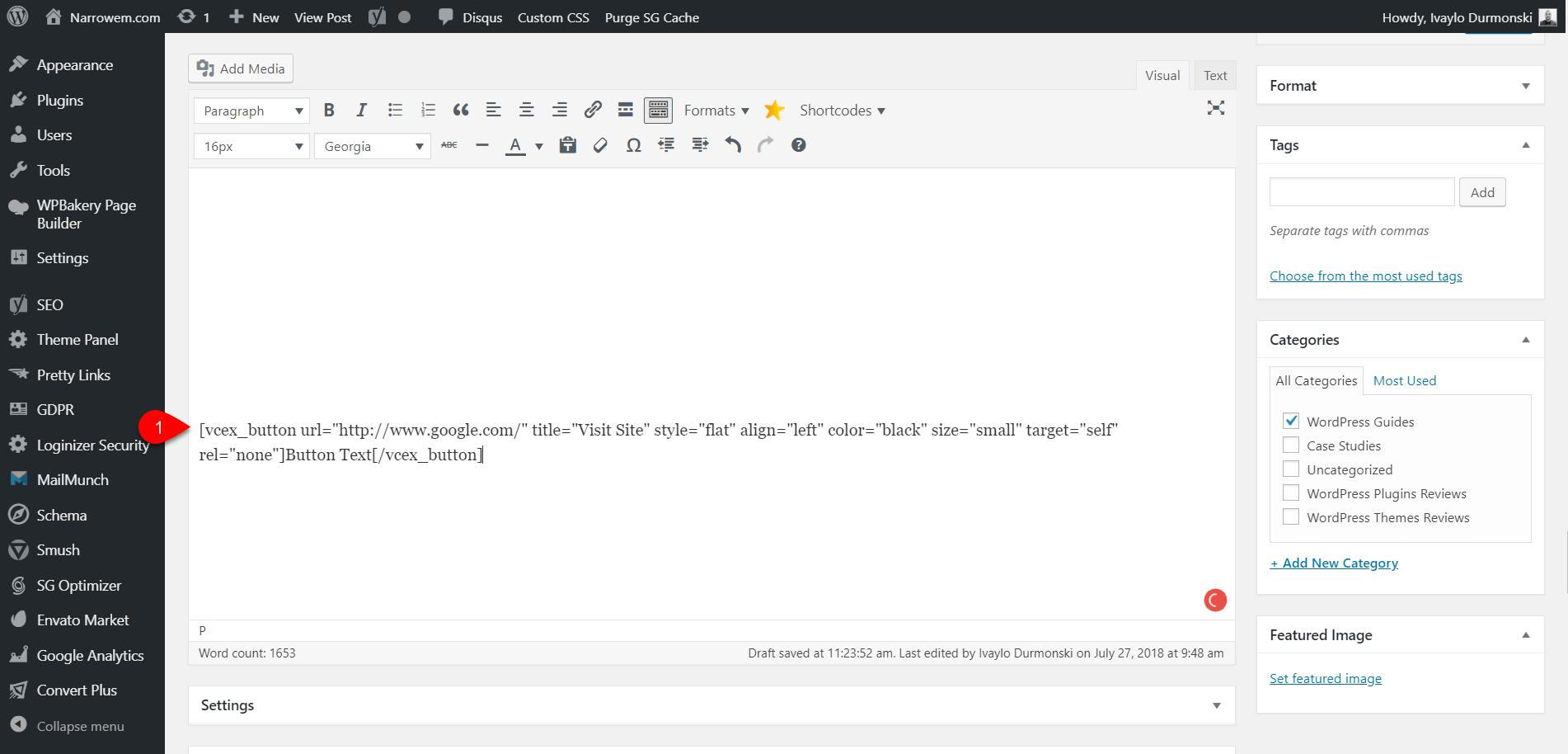Gutenberg WordPress Editor Plugin 26