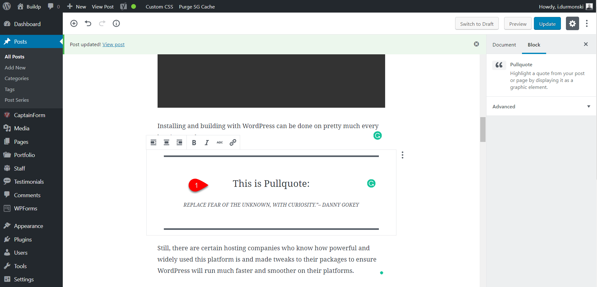 Gutenberg WordPress Editor Plugin 30