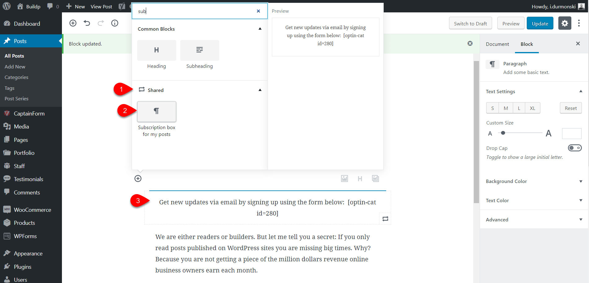 Gutenberg WordPress Editor Plugin 46
