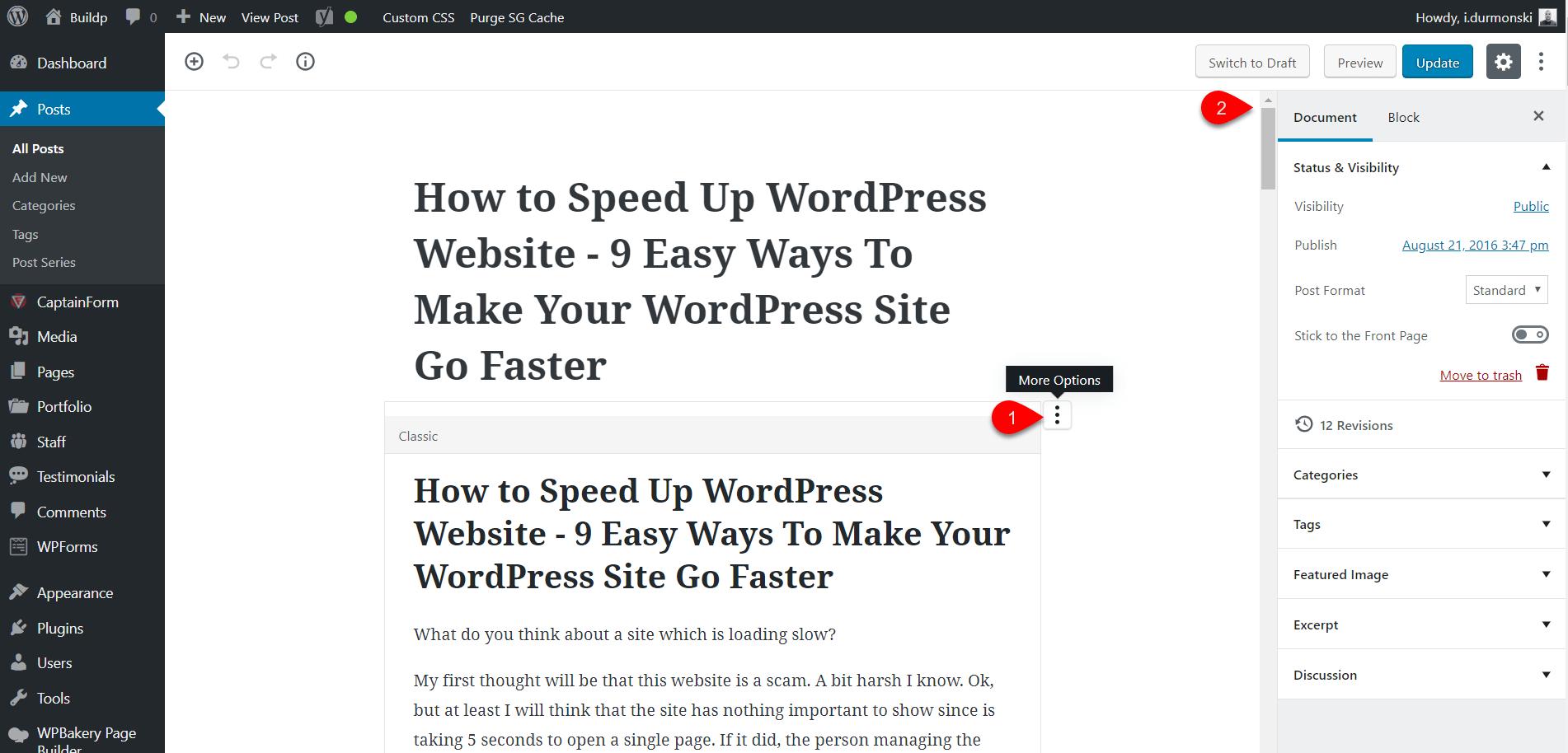 Gutenberg WordPress Editor Plugin 5