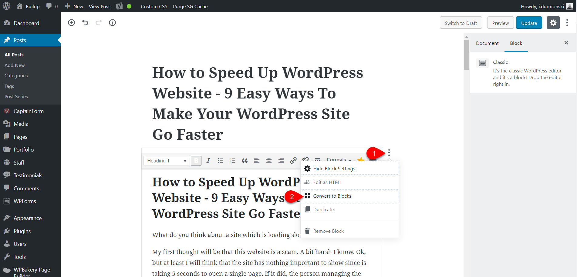 Gutenberg WordPress Editor Plugin 8