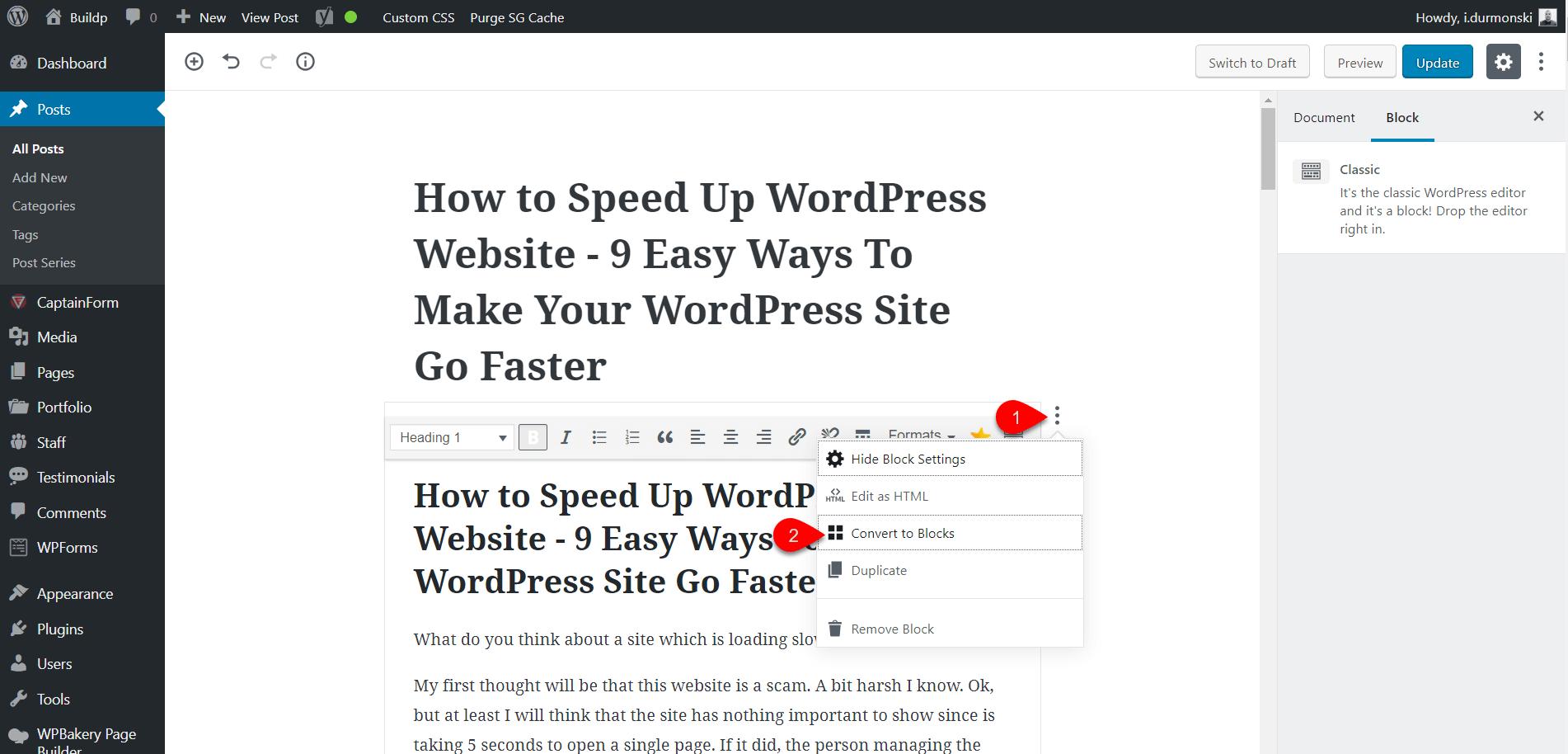 Gutenberg WordPress Editor Plugin 8