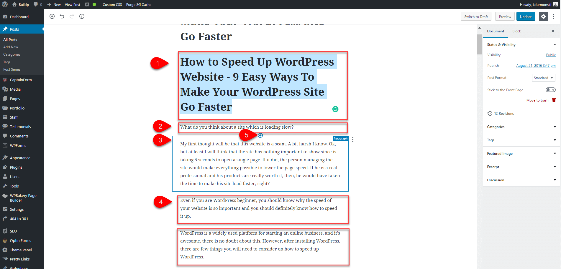 Gutenberg WordPress Editor Plugin 9