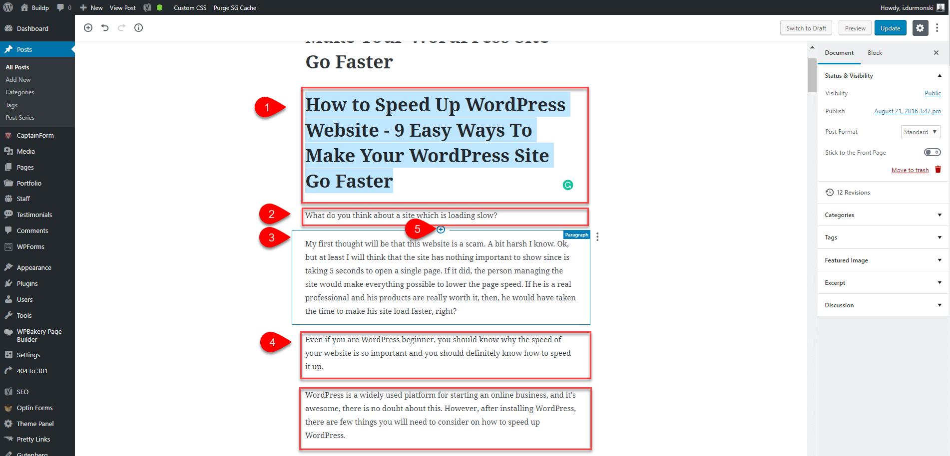Gutenberg WordPress Editor Plugin 9