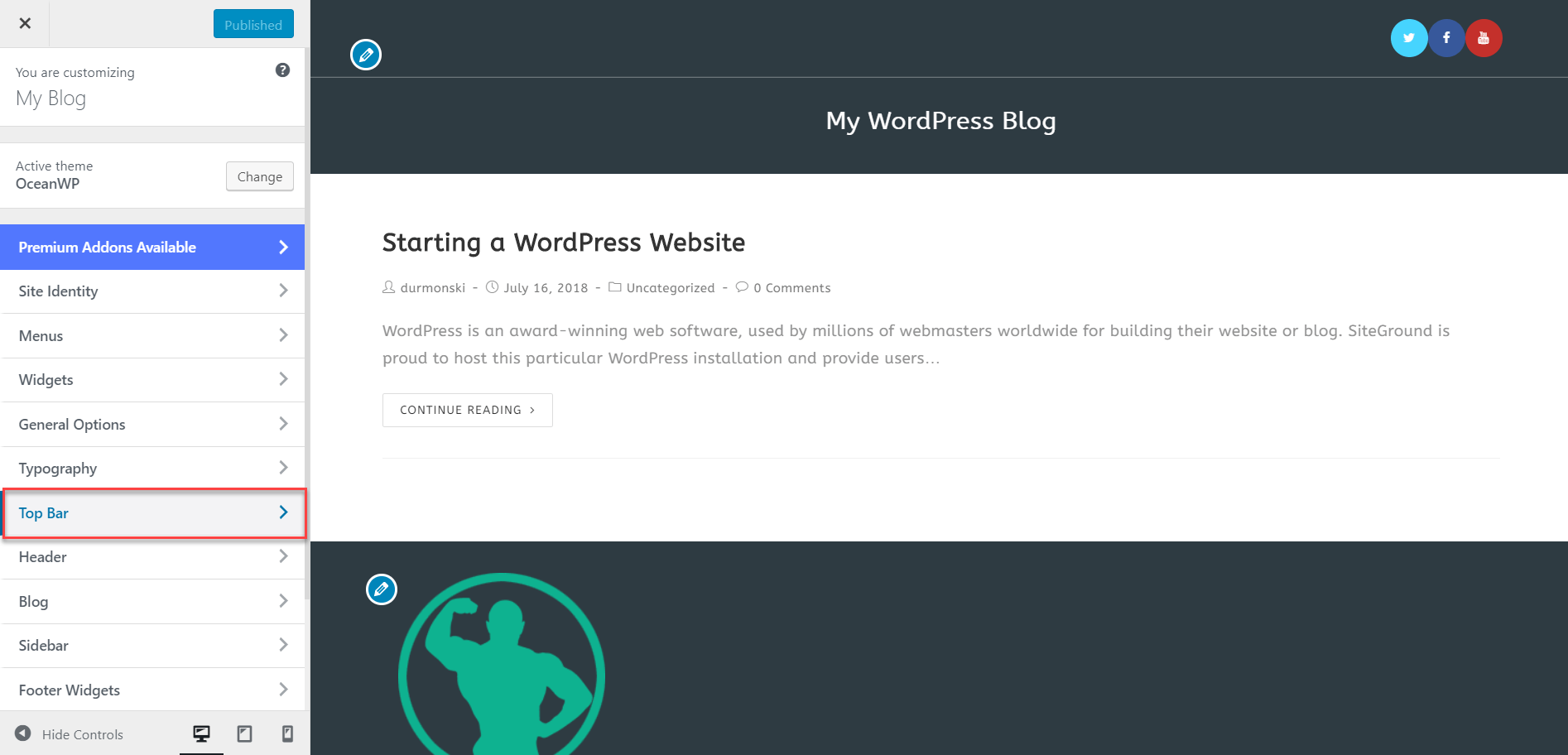 OceanWP WordPress Theme Review 16